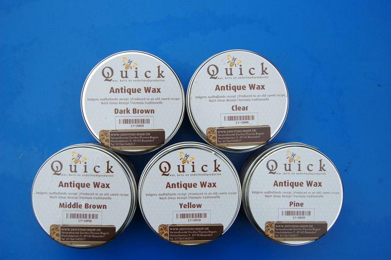 Quick HOLLAND ANTIK WACHS in 375 ml, (EUR 22,67 /L)