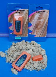 Digital LCD Holz feuchte-Messgerät