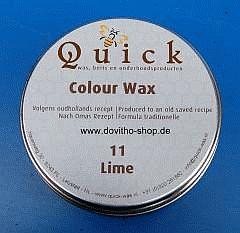 Quick Colour Wachs Möbelwachs Möbelpflege Politur, Lime 11 in 375 ml, (EUR 38,66 / L)