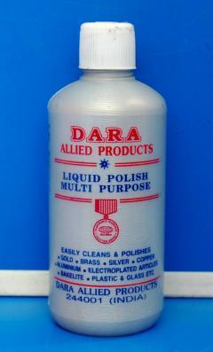 Silver und Gold Polish von Dara in 200 ml, (EUR 28,00 / L)