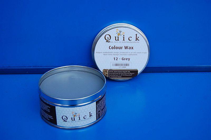 Quick Colour Wachs Möbelwachs Möbelpflege Politur, Grey 20 in 375 ml, (EUR 38,66 / L)