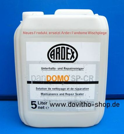 EUR 39,80 / L), Ardex Pandomo SP-CR Unterhalts-u. Repairreiniger 5 Liter