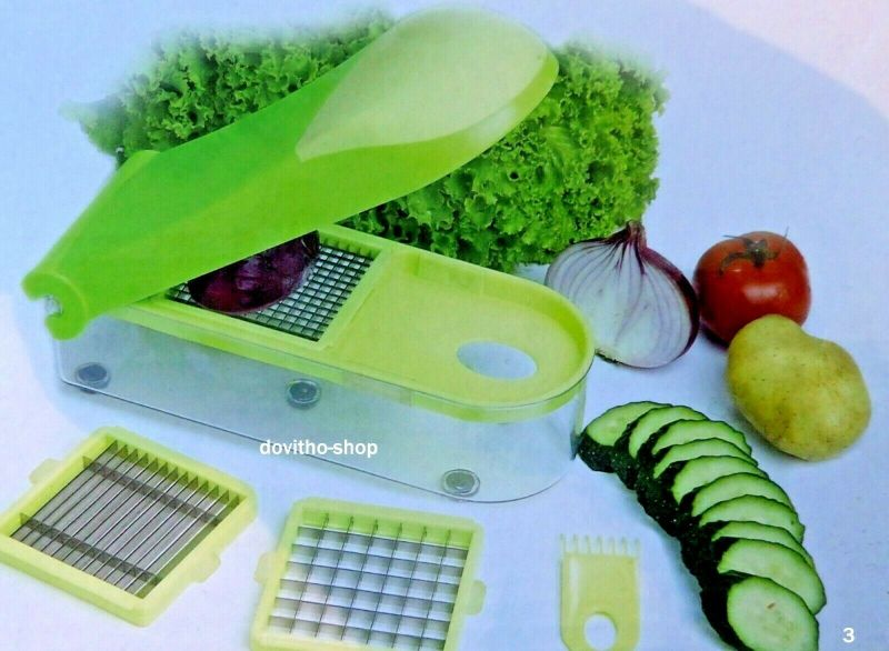 Früchte- und Gemüse Schneider Früchteschneider Gemüse-Schneider Zwiebelschneider